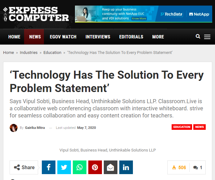 https://www.expresscomputer.in/industries/education/technology-has-the-solution-to-every-problem-statement/55160/